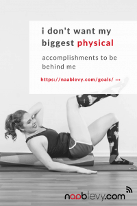 I Don't Want My Biggest Physical Accomplishment To Be Behind Me #physicalaccomplishment #chinup #goals #hipsdontlie #naablevy