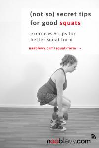 (Not So) Secret Tips To Good Squats #squats #fitnesstips #squatform #squattips #howtosquat #naablevy